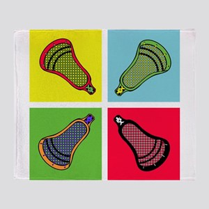 Lacrosse Neon4 Throw Blanket