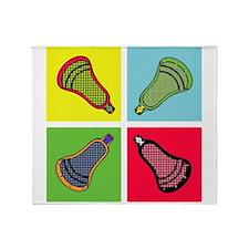 Lacrosse Neon4 Throw Blanket