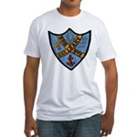 USS LEARY Fitted T-Shirt