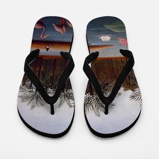The Flamingos Flip Flops