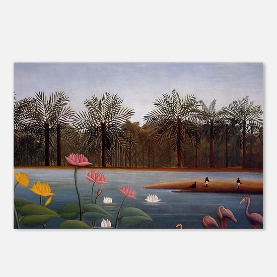 The Flamingos Postcards (Package of 8)