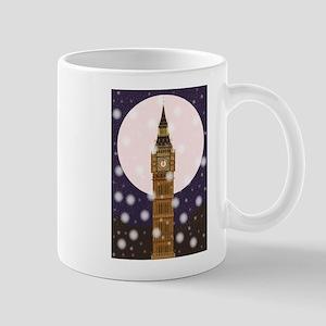 London Christmas Eve Mugs
