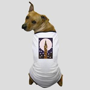 London Christmas Eve Dog T-Shirt