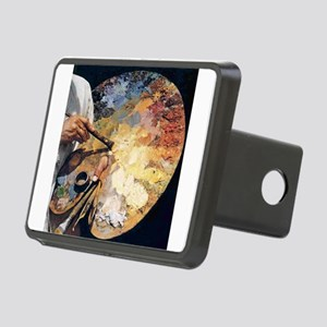 Art Palette Hitch Cover