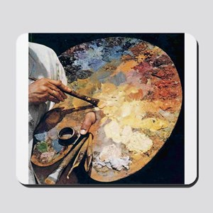 Art Palette Mousepad