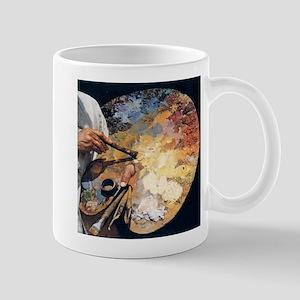 Art Palette Mugs