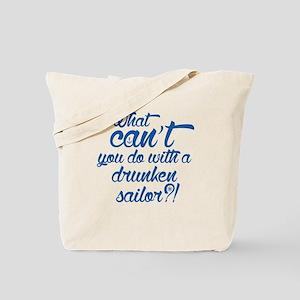Drunken Sailor Tote Bag