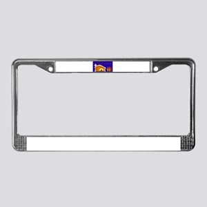 Away in a Manger License Plate Frame