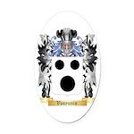 Vasyunin Oval Car Magnet