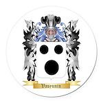 Vasyunin Round Car Magnet