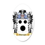 Vasyagin Oval Car Magnet