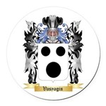 Vasyagin Round Car Magnet