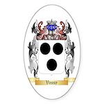 Vassy Sticker (Oval 10 pk)