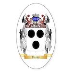 Vassy Sticker (Oval 50 pk)
