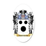 Vassilchenko Oval Car Magnet