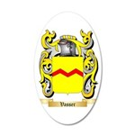 Vasser 35x21 Oval Wall Decal