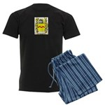 Vassar Men's Dark Pajamas