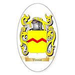 Vassar Sticker (Oval)
