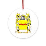Vassar Round Ornament