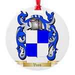 Vass Round Ornament