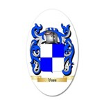 Vass 20x12 Oval Wall Decal