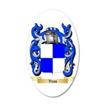 Vass 35x21 Oval Wall Decal