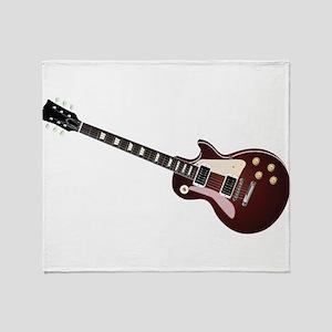 Les Paul guitar Throw Blanket