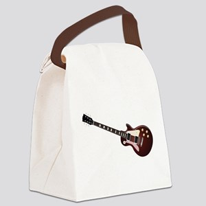 Les Paul guitar Canvas Lunch Bag
