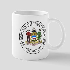 Great Seal of Delaware Mugs
