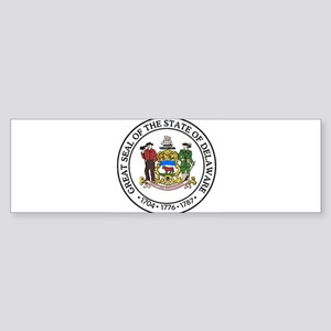 Great Seal of Delaware Bumper Sticker