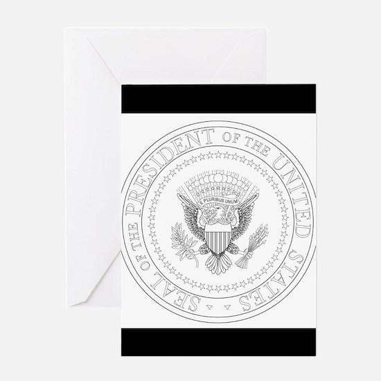 Presedent Seal Greeting Cards