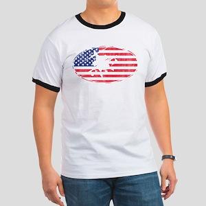 American Flag Apache T-shirt T-Shirt