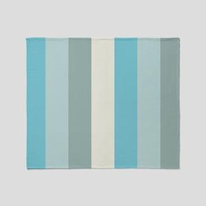 Beach Palette Stripe Throw Blanket