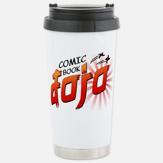 Comic Book Dojo Stainless Steel Travel Mug