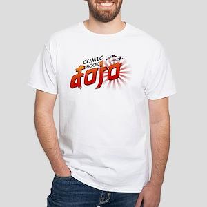 Comic Book Dojo White T-Shirt