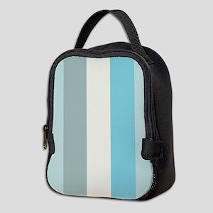 Beach Palette Stripe Neoprene Lunch Bag