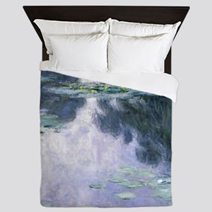 Monet - Nympheas 1907 Queen Duvet