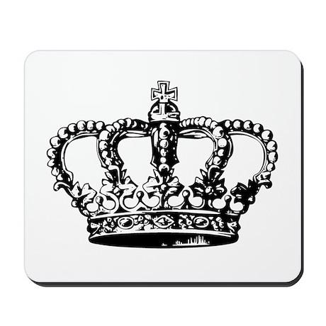 Black Crown Mousepad
