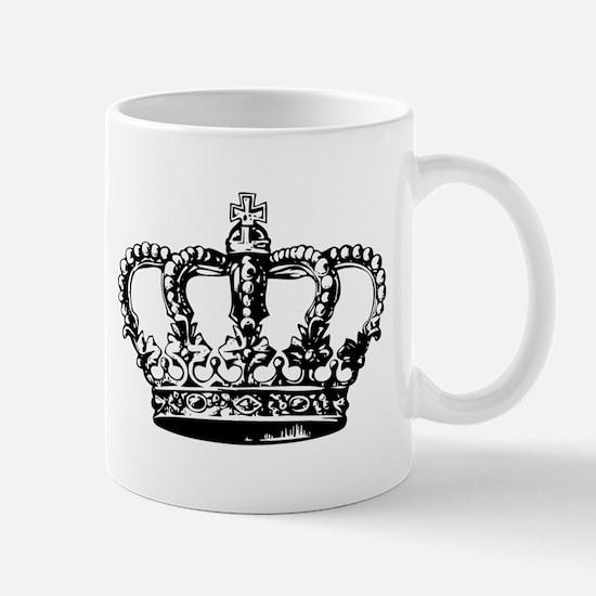 Black Crown Mug
