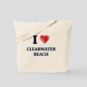 I love Clearwater Beach New York Tote Bag