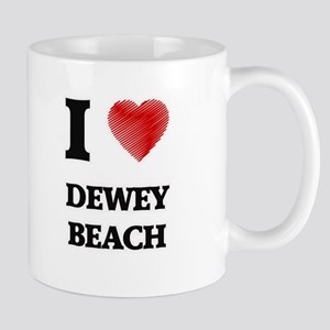 I love Dewey Beach Delaware Mugs