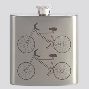2 Bicycles Flask