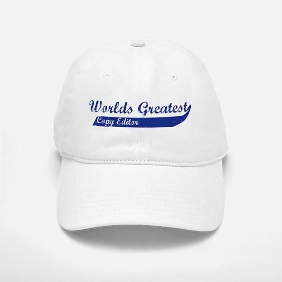 Greatest Copy Editor Baseball Baseball Cap