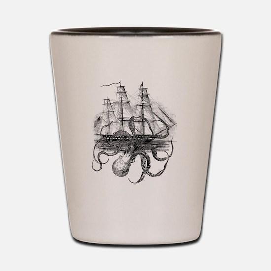 Cute Pirates Shot Glass