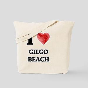I love Gilgo Beach New York Tote Bag