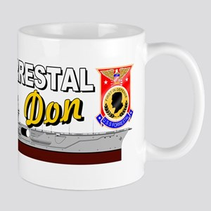 Uss Forrestal Cv-59 Don Regular Mugs