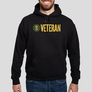 U.S. Army: Veteran Hoodie (dark)