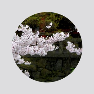 "Cherry Blossoms 3.5"" Button"