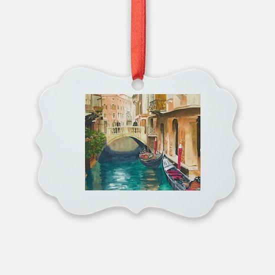 Unique Venice Ornament