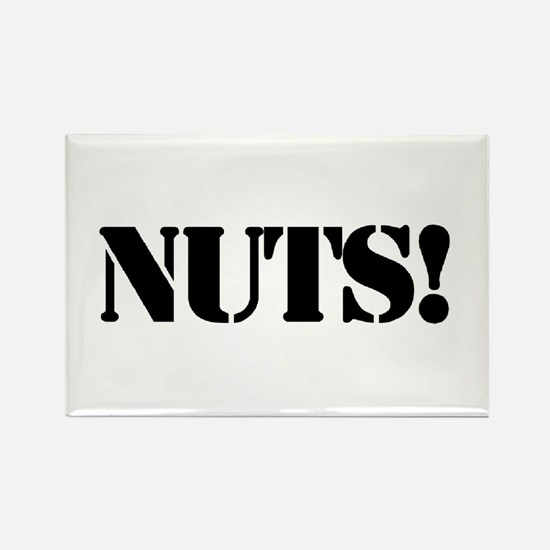 nuts Rectangle Magnet